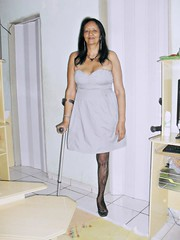 amp-1103 (vsmrn) Tags: woman crutches amputee onelegged