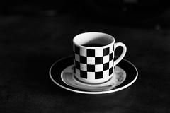 BW_Espresso (justsamuraj) Tags: new old bw white black art cup tasse coffee digital dark mono blackwhite espresso monochrom musik chello kaffe schwarz dunkel weis