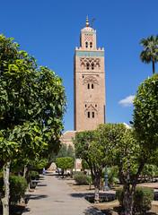 Koutoubia Mosque (simononly) Tags: vacation holiday canon easter march break mosaic mosque morocco berber marrakech medina marrakesh koutoubia 2016 almohad 60d