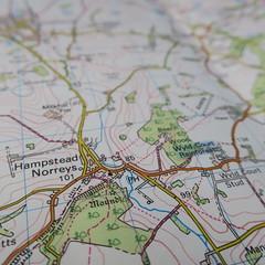 Hampstead Norreys map, Berkshire (Alex J Donohue) Tags: map berkshire survey ordnance hampsteadnorreys