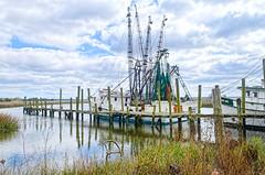 DSC_0032 (Sco C. Hansen (TheHansenGallery.com)) Tags: water dock marsh shrimping shrimpboat shrimpboats lowcountry
