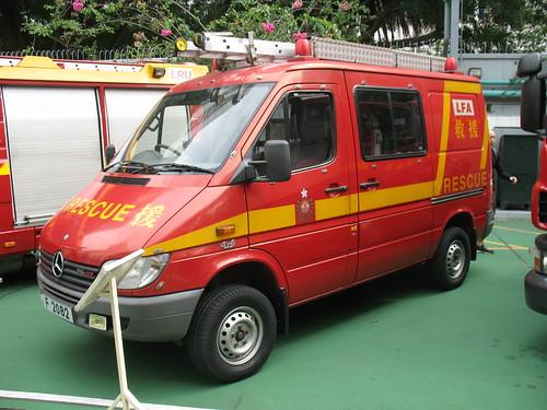 Mercedes-Benz Sprinter Light Fire Appliance(4x4)_F2082