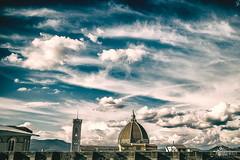 Firenze (Pierpaolo Papa Photographer) Tags: sky clouds canon landscape eos florence nuvole m cielo firenze duomo paesaggio brunelleschi santamariadelfiore 22mm eosm canoneosm efm22mm canonefm22mmf2