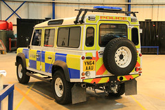 South Yorkshire Police Land Rover Defender 110 Firearms Support Unit (PFB-999) Tags: car support 4x4 south yorkshire 110 fsu police rover land vehicle leds grilles response unit defender firearms armed lightbar syp arv yn64aau