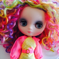 Colorful Calliope.... (A Little Fairy Magic/Leezapea1) Tags: funnybunny pariszhenpinkscalp alittlefairymagiccustom