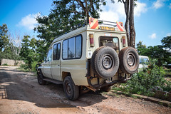 Safari, car (robseye76) Tags: africa park holiday car kenya safari national vacations kenia tsavo wakacje afryka