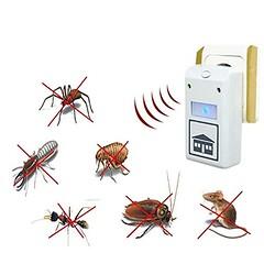 EU Plug Pest Repeller Control Aid Killer Ant Mosquito Repelling Plus Electronic 220V/110V (Color: White) (saidkam29) Tags: white color control mosquito killer plug plus electronic pest repelling repeller 220v110v