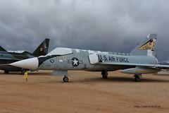 Convair F-106A Delta Dart ~ 59-003 (Aero.passion DBC-1) Tags: museum plane tucson aircraft aviation delta muse pima preserved dart avion airmuseum airspacemuseum convair f106 59003 aeropassion musedelair dbc1 prserv
