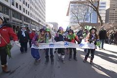 2016 Montreal St Patrick's parade