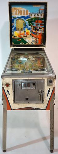 Williams Apollo Arcade Coin Operated Pinball Machine, Working ($440.00)