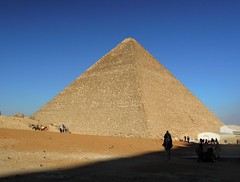 Egypt (Cairo) One of the Giza Pyramids (ustung) Tags: architecture ancient nikon pyramid outdoor great egypt cairo giza