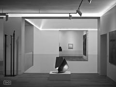 Cuadrculas/ Square lines (Jose Antonio. 62) Tags: blackandwhite bw espaa art blancoynegro beautiful museum photography spain arte asturias museo oviedo