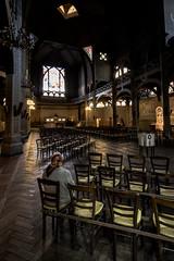 Eglise Saint-Jean de Montmartre (snowp25) Tags: paris france church alone faith prayer montmartre brique foi capitale eglise