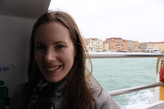 Vaporettartist (Epochend) Tags: venice sea portrait holiday water boat honeymoon vaporetti vaporetta