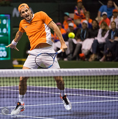 1st Round Men's Doubles (mirsasha) Tags: california march atp tennis indianwells 2016 felicianolopez bnpparibasopen