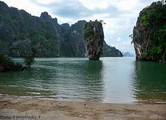 Thailand- James Bond Island (johnfranky_t) Tags: t island james mare panasonic bond tz5 johnfranky