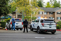 Robbery with Gun Call (andrewkim101) Tags: county ford chevrolet washington state tahoe police utility wa suv marysville department patrol everett interceptor snohomish ppv wsp 2015