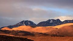 Atacama Desert Sunset (Rodrigo Almendras V.) Tags: sunset mountains canon desert shades puestadesol t3 montaa sanpedrodeatacama t3i desiertodeatacama atacamadesert canont3i