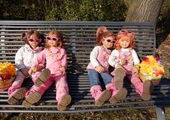 Der Frhling ist da ... (Kindergartenkinder) Tags: dolls schloss landschaft annette frhling tivi milina herten himstedt annemoni kindergartenkinder sanrike