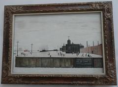 [41283] Liverpool - Walker Art Gallery : Waterloo Dock, Liverpool (Budby) Tags: art liverpool painting picture merseyside walkerartgallery lslowry