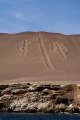 Isla Ballestas (pzartmann) Tags: sign giant isla unkown ballestas