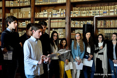 M4302462 (pierino sacchi) Tags: mostra de liceo biblioteca andr visita scuola golgi universitaria broni scientifico