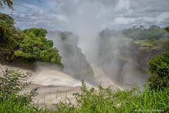 Victoria Falls, Zimbabwe (WeeMac1) Tags: water river waterfall falls zimbabwe victoriafalls zambezi rainyseason davidlivingstone zambeziriver mosioatunya thesmokethatthunders
