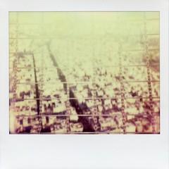 Le catene di Teheran ([quello che non c']) Tags: tower film polaroid iran image persia 1200 spectra milad teheran analogic theimpossibleproject torremilad