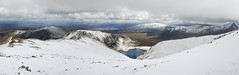 Wintry Carneddau 13 (Ice Globe) Tags: winter panorama white mountain snow mountains cold nature wales pen 35mm landscape frozen nikon view snowy scenic du panoramic reservoir views snowing icy snowdonia yr moel ffynnon llewelyn wintry siabod helgi carneddau carnedd llugwy landsacpes d5100