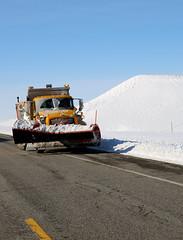 Snow Plow (wyojones) Tags: winter snow storm truck wyoming np snowplow winterstorm lander redcanyon southpass wyojones southpasshighway wyoming28