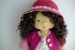 "RACHEL  20"" doll (Dearlittledoll) Tags: wool natural puppet waldorf handmadedoll naural waldorfdoll naturalkids organicdoll naturalfiberdoll dearlittledoll"