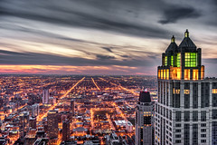 pic of the day - Explored 4/9/16 (jnhPhoto) Tags: sunset chicago downtown chicagoskyline d700 jnhphoto