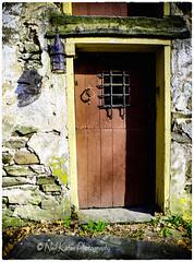 An old red door_DSC5785 photoshop NIK edit 3  (nkatesphotography) Tags: landscape outdoors scenic farms nikon1855mm nikond7000