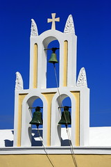 .....bell... (klentosharry) Tags: church canon santorini belfry cyclades canoneos5d