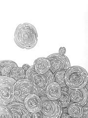 Demencia. (anysykes - any) Tags: illustration drawing any draw dibujo desing melany circulos acevedo anysykes