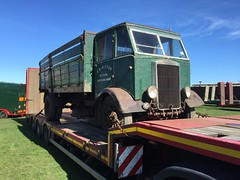 Time warp (South Strand Trucking) Tags: barn auction oily rag find albion farmsale lorryrestoration
