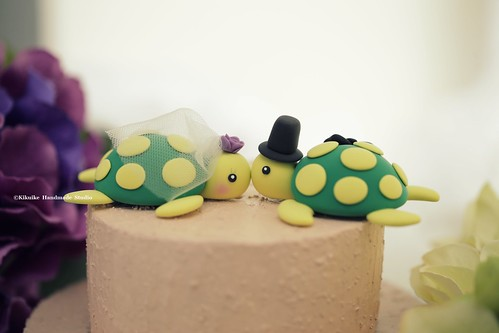 turtles Wedding Cake Topper - a photo on Flickriver