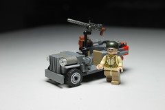 Willys' Jeep ([C]oolcustomguy) Tags: world brick war arms lego jeep wwii ii citizen willys brickarms citizenbrick