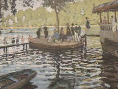 La Grenouillre (1869) - Claude Monet - The Met - New York City - April 2016 (jeanyvesriou1) Tags: newyorkcity art museum painting manhattan muse peinture museo themet uppereastside pintura claudemonet oiloncanvas themetropolitanmuseumofart huilesurtoile muse
