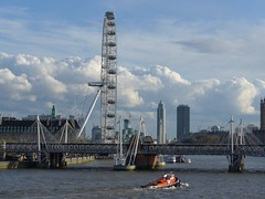 London Eye (moley75) Tags: london boat londoneye hung waterloobridge centrallondon