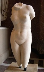 Cnidus Aphrodite // by Praxiteles,  The Louvre (mike catalonian) Tags: sculpture marble aphrodite ancientgreece praxiteles
