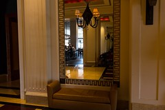 In the mirror HBM (Irina1010) Tags: people canon reflections bench hotel mirror funny interior baltimore lobby monday hbm marriottwaterfront outstandingromanianphotographers