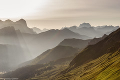 Luce (cesco.pb) Tags: italy alps sunrise canon dawn italia alba alpi trentino dolomites dolomiti veneto dolomiten valdifassa passopordoi trentinoaltoadige canoneos60d tamronsp1750mmf28xrdiiivcld