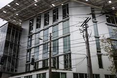 Bullitt Center. ([Gaston].) Tags: seattle architecture washington powerlines powerpole capitolhill sustanability bullittcenter