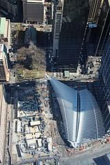 2016-04-14 NYC_0116a (LMJones Photo) Tags: nyc travel vacation water skyline observation memorial worldtradecenter visit aerial journey observationdeck skyhigh transportationhub 0116a 20160414nyc worldtradeobservatory