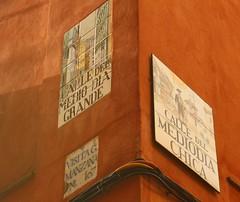 Azulejo de calle del Medioda Grande. Madrid (Carlos Vias-Valle) Tags: azulejo callemediodiagrande