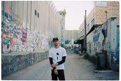 (tayn3) Tags: travel wall 35mm israel desert kodak palestine middleeast 400 bethlehem olympusom2 separation 400iso olympusom2n separationwall ultramax ultramax400