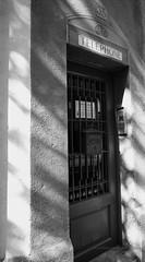 Doors of Spain (Photoz Darkly) Tags: barcelona blackandwhite bw monochrome blackwhite spain espana