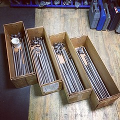 Prepare for for waiting orders. #brassbrazing... (Stubborn Cycleworks) Tags: columbus track handmade fixed handcrafted fixie custom pista fixgear lug framebuilding custommade handcarving brassbrazing uploaded:by=flickstagram stubborncycleworks columbusofficial instagram:venuename=stubborncycleworks instagram:venue=263704721 instagram:photo=8014175415291141392926796