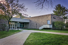 Science Building, 2016.04.24 (Aaron Glenn Campbell) Tags: building architecture rural reflections campus pennsylvania sony country sigma lehman hdr highdynamicrange nepa luzernecounty backmountain mirrorless a6000 psuwb a6k pennstatewilkesbarre emount 19mmf28exdn sonyalpha6000 ilce6000 3ev aurorahdrpro